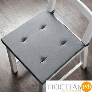 """Комплект подушек для стула """"Билли"""" RES-PAS05-06-05 Серый 37х42 см (2 шт)"""