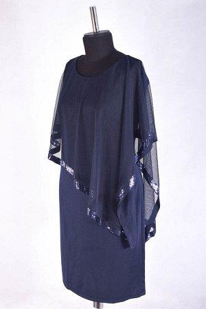 Сетка платье миди без застежки