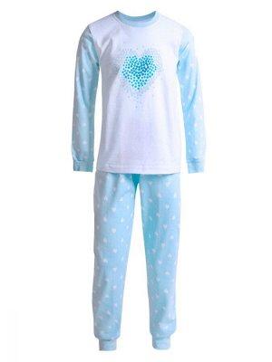 Пижама для девочек арт 11312