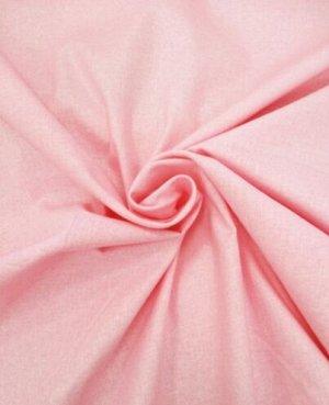 Перкаль цв.Бледно-розовый, ш.1.5 м, хлопок-100%, 110 гр/м.кв.