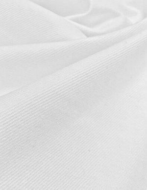 Бумазея цв.Белый, СОРТ 2, хлопок-100%, 0.8 м, 270 г/м.кв