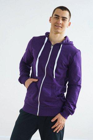 Толстовка мужская 01-020 (Фиолетовый)