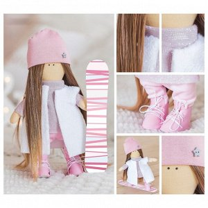 Интерьерная кукла «Харди», набор для шитья, 18.9 ? 22.5 ? 2.5 см