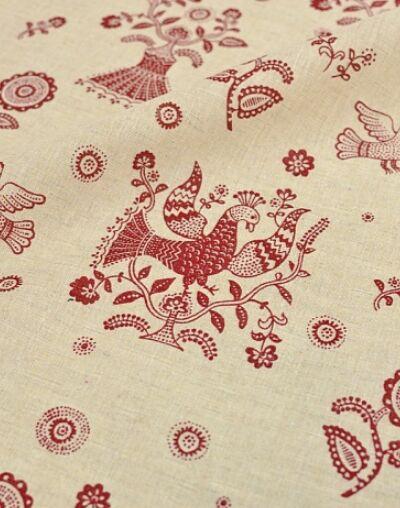 Распродажа ткани и фурнитуры! Огромный выбор детских тканей! — Лен, полулен с рисунком — Ткани