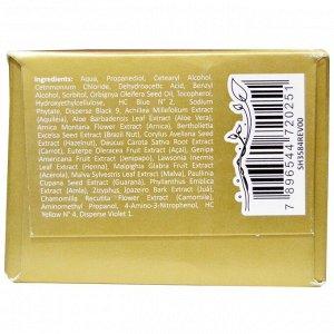 Surya Brasil, Surya Henna, эффективная здоровая краска Henna Cream для седоватых волос, золотисто-каштановый, 2,37 жидких унций (70 мл)