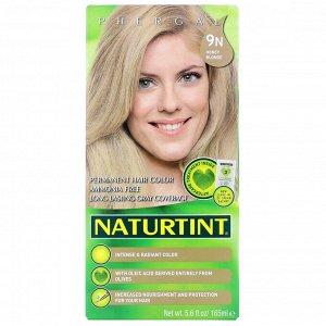 Naturtint, Permanent Hair Color, 9N Honey Blonde, 5.6 fl oz (165 ml)