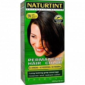 Naturtint, Стойкая краска для волос, 5N, светлый каштан, 150 мл (5,28 жидк. унций)