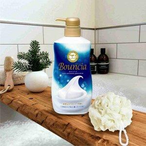 """Сливочное жидкое мыло """"Bouncia"""" для рук и тела с нежным свежим ароматом 500 мл"""