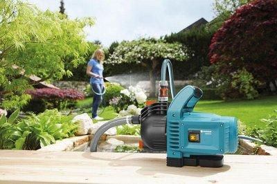 GARDENA — все самое необходимое для работы в саду! — НАСОСНОЕ ОБОРУДОВАНИЕ — Садовая техника