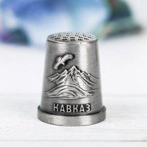 Напёрсток сувенирный «Кавказ», чернёное серебро