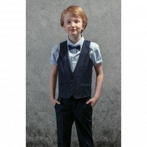 Комплект жилет сорочка для мальчиков (140-68-60)