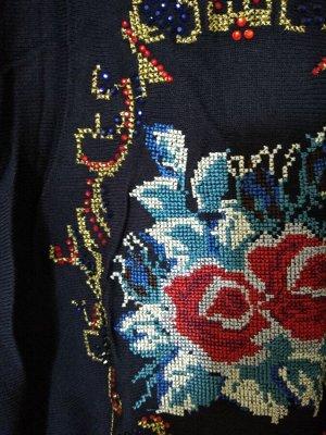Блуза Турция, трикотаж, вышивка