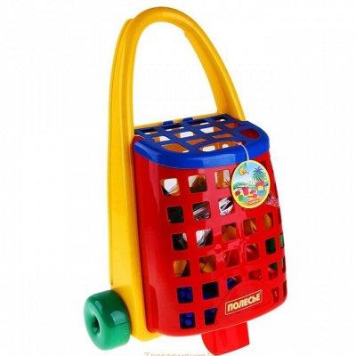 Полесье. Любимые игрушки из пластика. Успеем до повышения — Забавная тележка — Игровые наборы