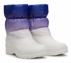 Сноубутсы Дюна, артикул 327, цвет белый, материал текстиль
