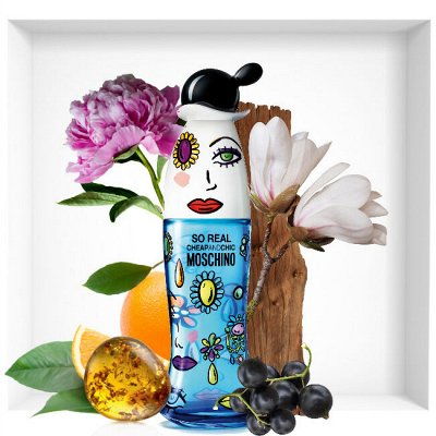 Элитная косметика и парфюмерия . Майская акция — Moschino — Парфюмерия