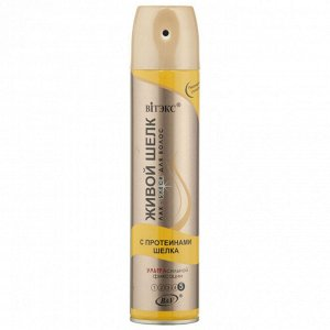Лак-БЛЕСК   для волос с протеинами шелка   Ультрасильной фиксации  300 мл 0,31 кг