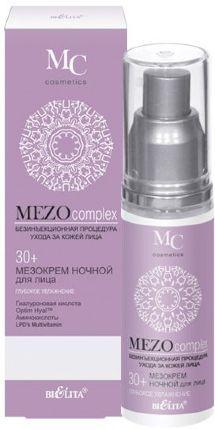 Белита MEZOCOMPLEX Крем ночной для лица 30+ Глубокое увлажнение 50 мл 0,09 кг