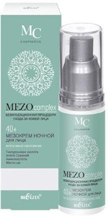 Белита MEZOCOMPLEX Крем ночной для лица 40+ интенсивное омоложение 50 мл 0,09 кг