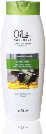 Шампунь    с маслами ОЛИВЫ и КОСТОЧЕК ВИНОГРАДА  Питание и Защита  для нормальных волос     430 мл 0