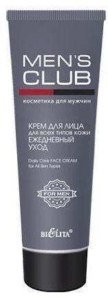 Белита MENS CLUB Крем для лица для всех типов кожи Ежедневный уход 75 мл 0,09 кг