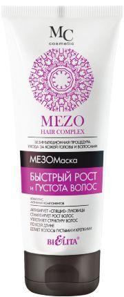 Белита MEZO HAIR COMPLEX МезоМаска Быстрый рост и Густота волос 200 мл 0,23 кг