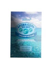 Арома-соль  для ванн  с экстрактом морской водоросли ламинарии и эфир. маслом лимона   ОКЕАНИЧЕСКАЯ