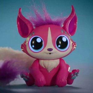 Интерактивный зверёк, розовый