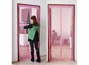 Москитная сетка на дверной проем, 120*200 см