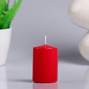 """Свеча - цилиндр ароматическая """"Цветущий сад"""" 4х6 см"""