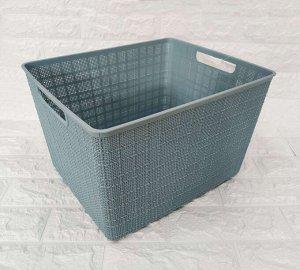 Корзина Размер: 35*29.7*21.5 см Цвет в ассортименте Легкая и компактная, многофункциональная корзинка из пластмассы поможет навести порядок в помещении. В офисе, в складских, подсобных помещениях и т.