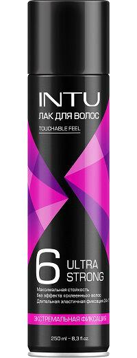 Лак для волос INTU ULTRA STRONG HOLD ЭФ, 250 см3/12/10770 1