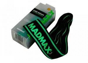 "Бинты колен MADMAX ""Non slide"" MFA299\BK-GN -2 м"