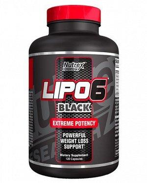 Жиросжигатель NUTREX Lipo-6 Black - 120 капсул