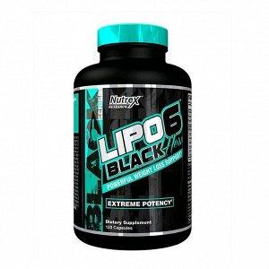 Жиросжигатель NUTREX Lipo-6 Black Hers - 120 капсул