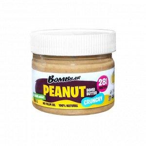 Паста Bombbar арахисовая хрустящая с кусочками  - 300 гр