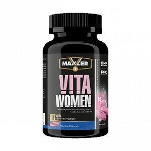 Мультивитамины MAXLER VitaWomen - 90 таблеток