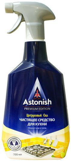 ASTONISH чистящее средство для кухни Цитрусовый сад (пр-во Великобритания)