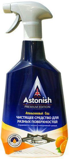 ASTONISH чистящее средство для разных поверхностей Апельсиновый сад (пр-во Великобритания)
