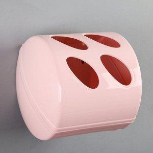 Держатель для туалетной бумаги Aqua, цвет МИКС