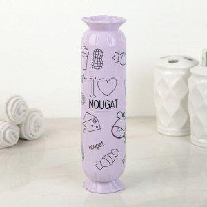 Футляр для зубной щётки и пасты «Конфета», 21,8 см, цвет МИКС