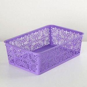 Корзина для хранения Floral, цвет МИКС