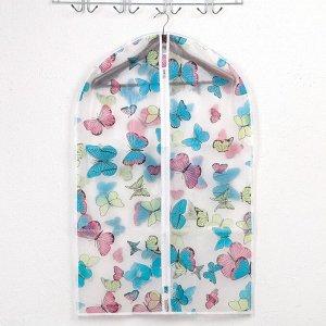 Чехол для одежды 60?90 см «Ассорти», ЭВА, рисунок МИКС