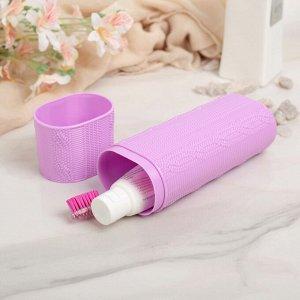 Футляр для зубной щётки и пасты, 19 см, цвет МИКС