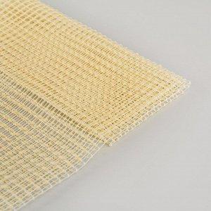 Подложка под ковёр противоскользящая 60?120 см, цвет жёлтый