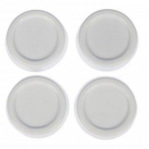 Набор подставок антивибрационных, 4 шт, цвет белый