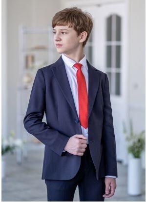 Стильный и модный принтованный галстук с мелким рисунком Арнольд 30 см