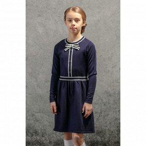 Платье трикотажное для девочек (134-64-57)