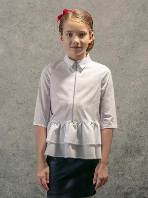 Блузка текстильная для девочек (128-64-54)