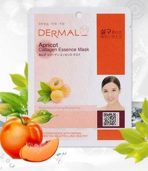 Коллагеновая маска Dermal Apricot Collagen Essence Mask(Пр-во Корея)