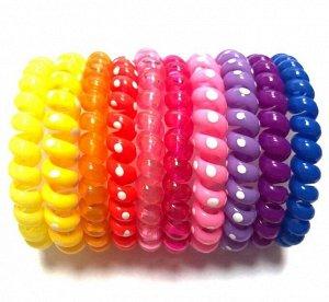 Резинка-пружинка для волос набор №218 10 шт.